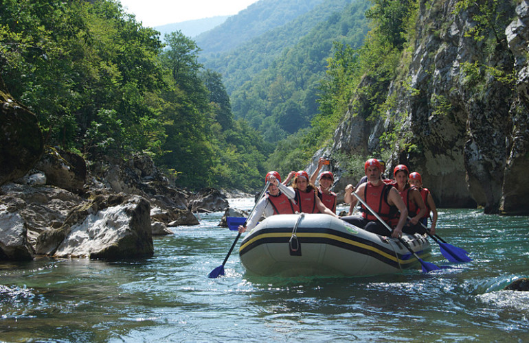Bosnia Rafting Adventure Through the Three Rivers