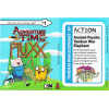 Adventure Time Fluxx: Tandam War Elephant Promo Postcard Thumb Nail