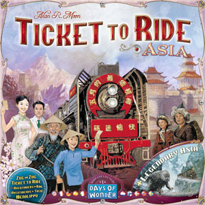 Ticket To Ride: Asia Expansion - Map Collection Volume 1
