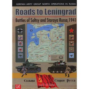 Roads to Leningrad: Battles of Soltsy and Staraya Russa, 1941 Board Game