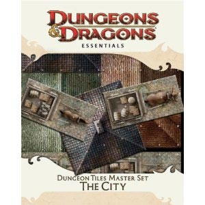 Dungeon Tiles Master Set: The City - Dungeons and Dragons 4th Edition