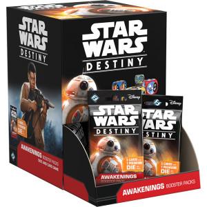 Star Wars Destiny: Awakenings Booster Display