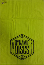 Disc Golf Towel (Golf Towel, Outlined Wheat Shield)