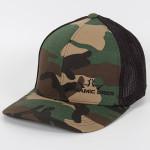 Flex Fit Mesh Baseball Cap (Flex Fit Mesh Baseball Cap, DD Crown Logo)