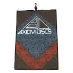 Axiom Discs Diamond Logo Full Color Sublimated Towel (Sublimated Golf Towel, Axiom Diamond Logo)