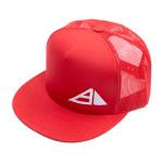 Axiom Pyramid Logo Flatbill Snapback Mesh Cap (Flatbill Snapback Mesh Cap, Axiom Pyramid Logo)