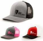 DGA Name and Basket Logo Mesh SnapBack Baseball Cap (Mesh Snapback Baseball Cap, DGA Name and Basket Logo)