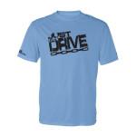 DGC Just Drive Logo Rapid Dry T-Shirt (Short Sleeve) (Rapid Dry T-Shirt, Just Drive Logo)