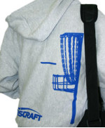 Full Zip Hoodie Sweatshirt (Full Zip Hoodie Sweatshirt, Basket and Discraft (Back) and Discraft (Front))