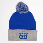 Knit Pom Beanie (Knit Pom Beanie, DD Crown Logo)