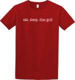 T-Shirt (Short Sleeve) (T-Shirt (Short Sleeve), Eat. Sleep. Disc Golf.)