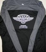 Innova Air Force 2nd Gen Logo Rapid Dry T-Shirt (Long Sleeve) (Rapid Dry T-Shirt (Long Sleeve), Innova Air Force 2nd Gen (Front) and Innova Swoosh (Back))