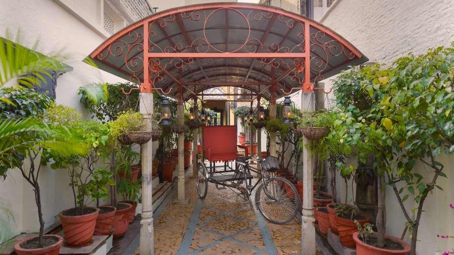 The Haveli Hari Ganga Hotel, Haridwar Haridwar FINAL rickshaw