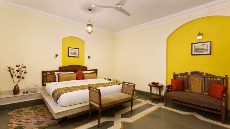 The Haveli Hari Ganga Hotel, Haridwar Haridwar FINAL room no window