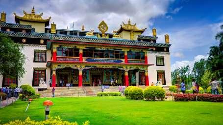Kadkani Riverside Resort, Coorg Coorg Golden Temple Monastery