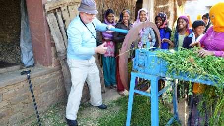 Organic Farming at Umaid Lake Palace Hotel Kalakho Dausa Rajasthan