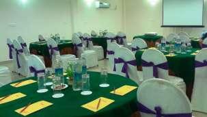Fort Mahodadhi Puri Fort Darbar Hall at Fort Mahodadhi Beach Hotel in Puri- A Puri Beach Hotel
