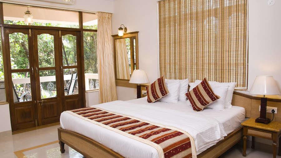 Ocean Palms Goa Palm Pool View Room 2 Ocean Palms Hotel Goa